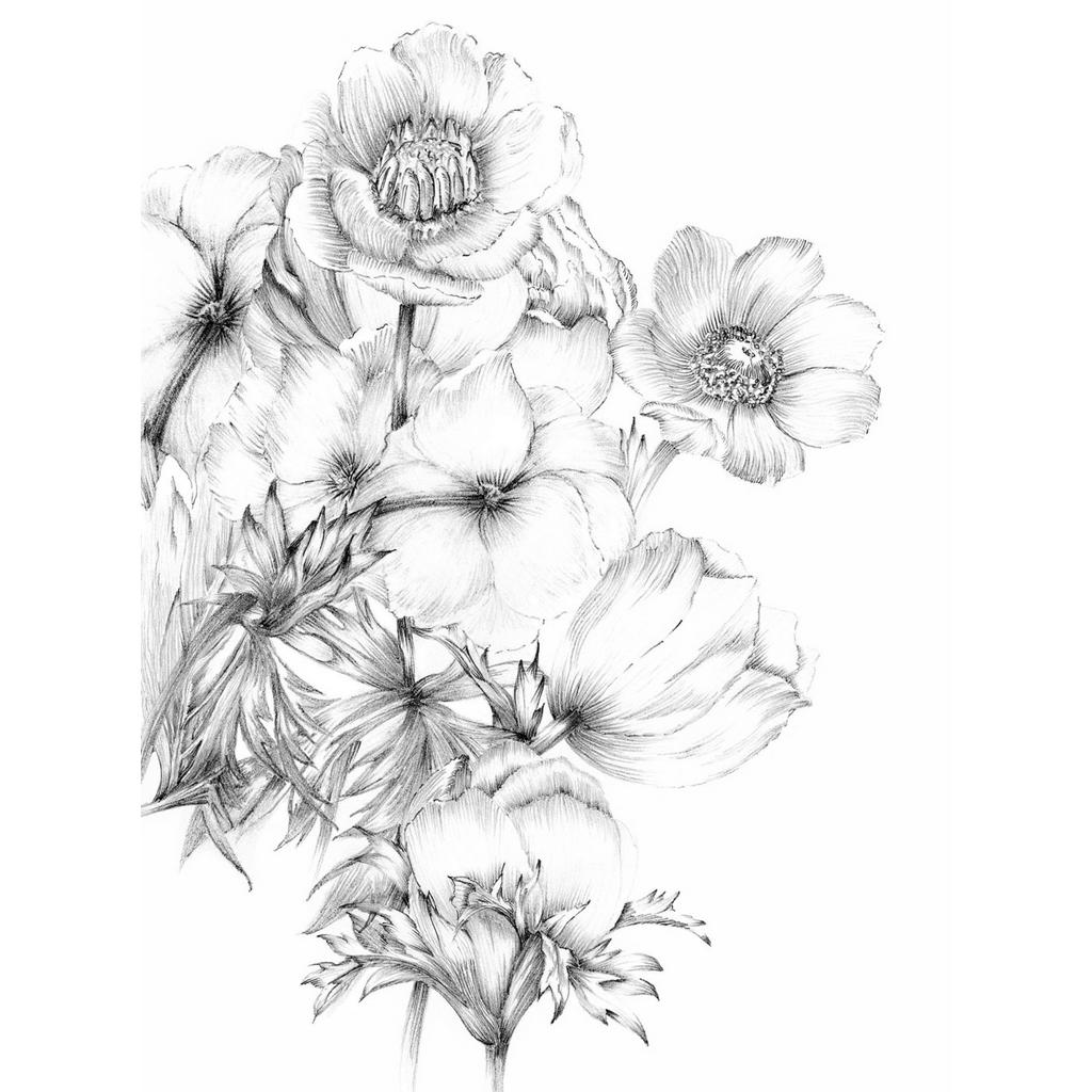 Komar Vlies Fototapete Embroidery