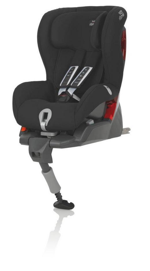 Kinderautositz Safefix Plus - Anthrazit/Schwarz, Basics, Kunststoff/Textil (46/67/60cm) - Römer