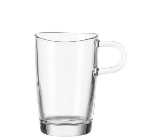 ŠÁLEK NA KÁVU,  - čiré, Konvenční, sklo (11.5/12/8cm) - Leonardo