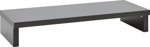 TV-AUFSATZ   Graphitfarben - Graphitfarben, KONVENTIONELL (89/14/37cm) - Voleo
