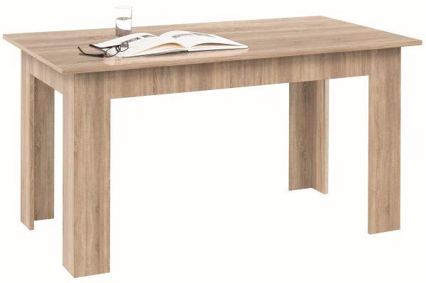 STOL ZA BLAGOVAONICU - hrast Sonoma, Design, drvni materijal (80/140cm) - BOXXX