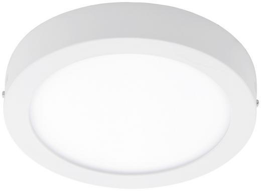AUFBAULEUCHTE - Weiß, Design, Metall (30/4cm)