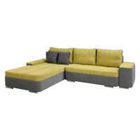 SEDEŽNA GARNITURA  siva, zelena tekstil - siva/zelena, Design, umetna masa/tekstil (310/210cm) - Xora