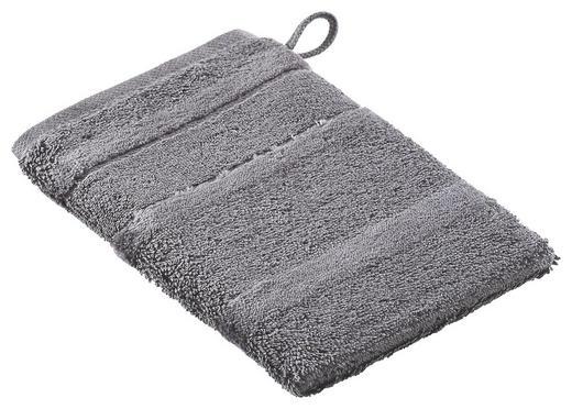 WASCHHANDSCHUH - Anthrazit, Basics, Textil (16/22cm) - CAWOE