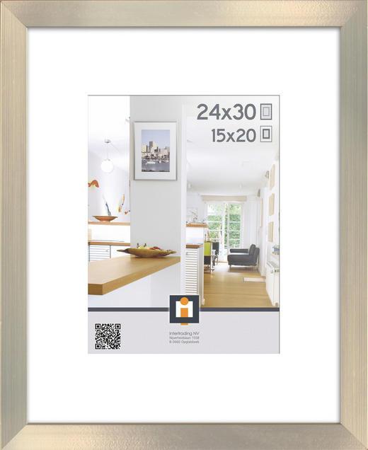 BILDERRAHMEN in Silberfarben - Silberfarben, Basics, Kunststoff (24/30cm)