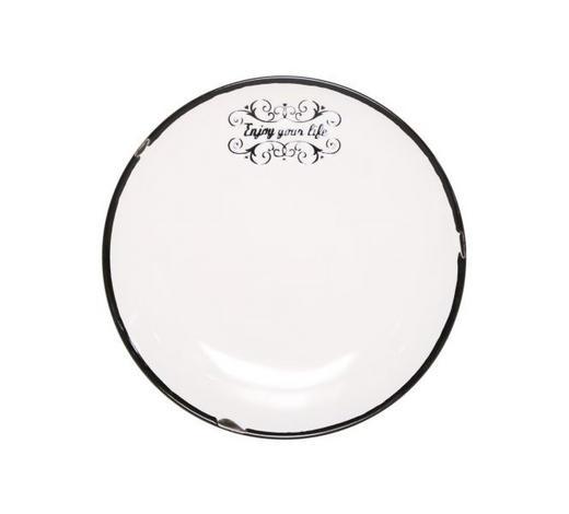 DESSERTTELLER 20 cm - Weiß, LIFESTYLE, Keramik (20cm) - Landscape
