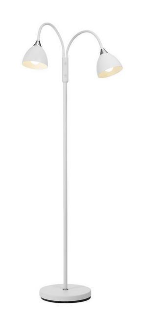 GOLVLAMPA - vit, Design, metall (132cm)