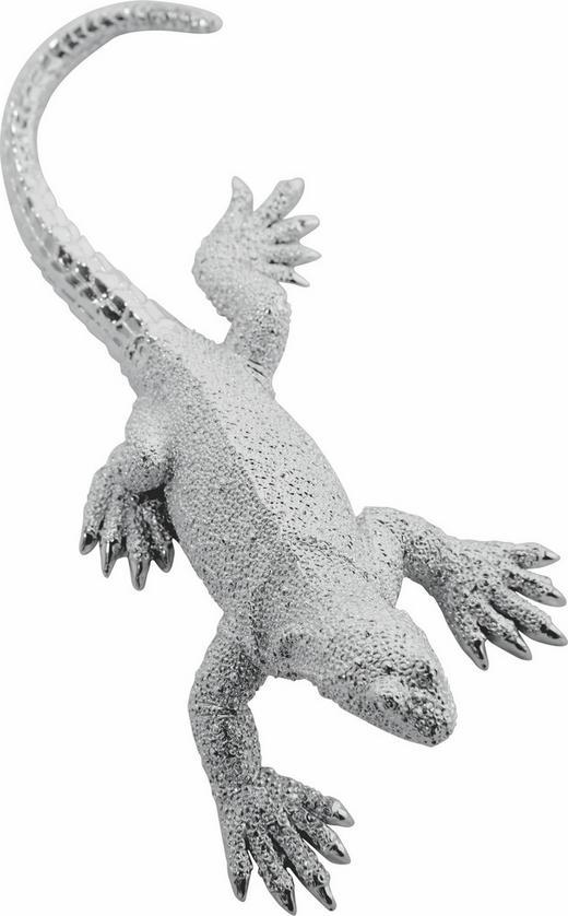 DEKOTIER - Silberfarben, Design, Kunststoff (23.5/5.5/12cm) - Kare-Design