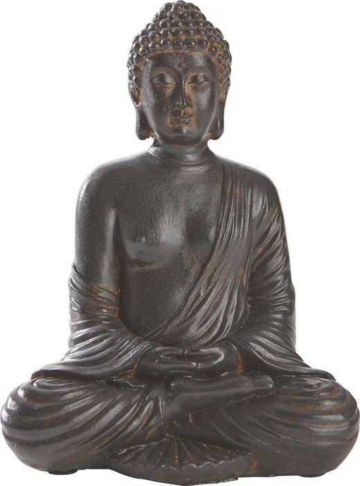 BUDDHA - Braun, Basics, Kunststoff (12,5/8,5/16,5cm) - AMBIA HOME