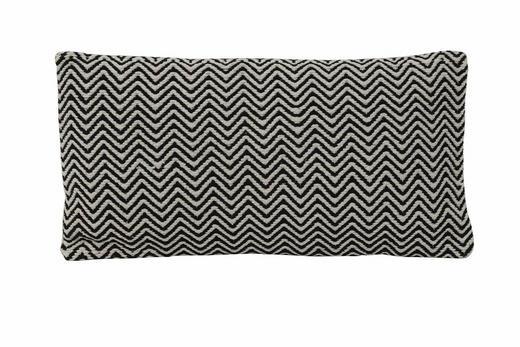 ZIERKISSEN - Schwarz, Design, Textil (60/30cm)