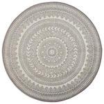 FLACHWEBETEPPICH Visby   - Silberfarben/Weiß, Design, Textil (120cm) - Novel