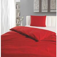 BETTWÄSCHE 140/200 cm - Rot, Design, Textil (140/200cm) - NOVEL