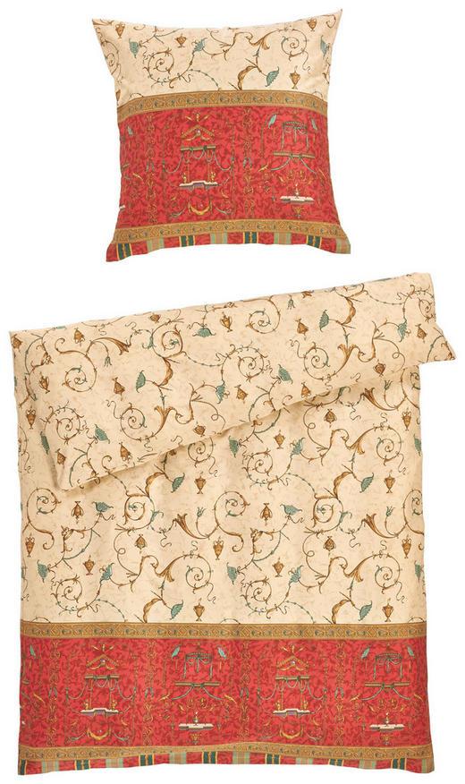 BETTWÄSCHE Makosatin Rot 155/220 cm - Rot, Basics, Textil (155/220cm) - BASSETTI