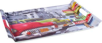 SERVIERTABLETT - Multicolor, LIFESTYLE, Kunststoff (37/52/2cm) - Homeware