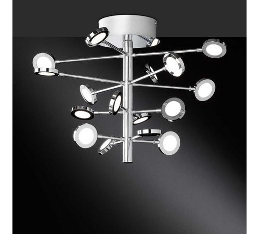 LED-STRAHLER   - Chromfarben, Design, Kunststoff/Metall (51/35/51cm)