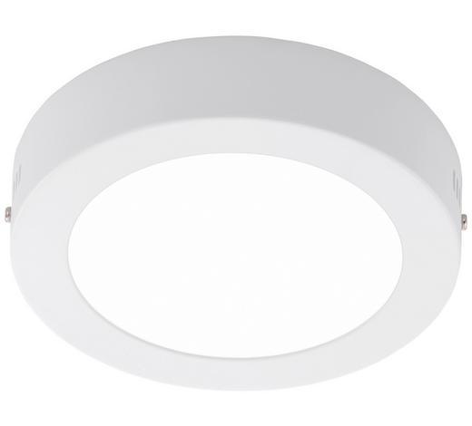 LED STROPNÍ SVÍTIDLO - bílá, Konvenční, kov/umělá hmota (17/4cm)