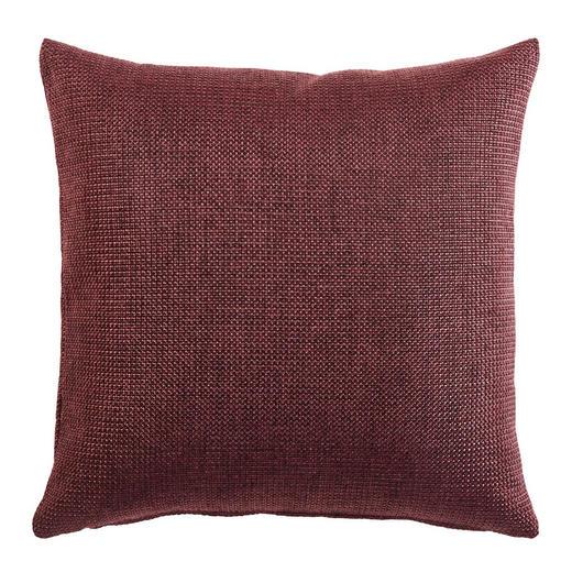 KISSENHÜLLE Bordeaux 50/50 cm - Bordeaux, KONVENTIONELL, Textil (50/50cm)