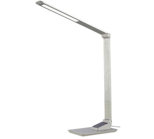 LED-SCHREIBTISCHLEUCHTE - Alufarben, Design, Metall (82cm)
