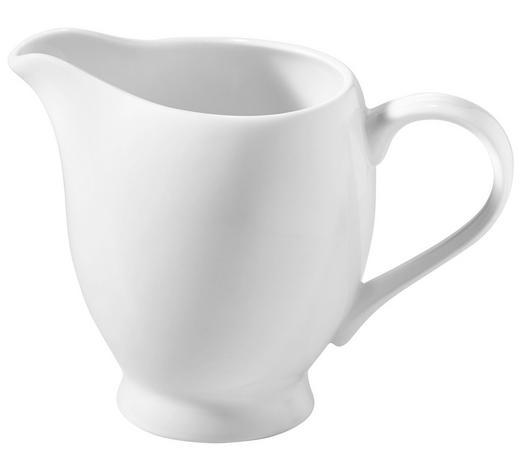 KONVIČKA NA MLÉKO, kostní porcelán (bone china) - bílá, Basics, keramika (9/9,5cm) - Novel