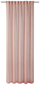 FERTIGVORHANG  halbtransparent  140/245 cm - Rosa, Basics, Textil (140/245cm) - Esposa