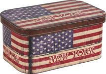 DEKOBOX 38/25/17 cm - Multicolor, Basics, Karton/Holz (38/25/17cm) - Boxxx