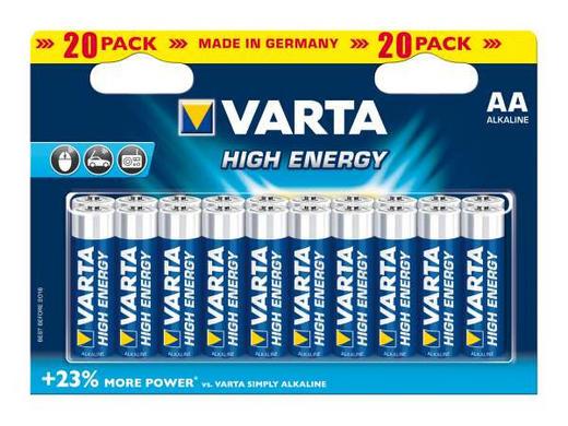 BATTERIE - Basics (16.7/12/0.3cm) - Varta