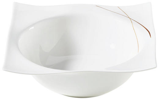 SALATSCHALE 18CM - Braun/Weiß, Design, Keramik (18/18/7cm) - Ritzenhoff Breker