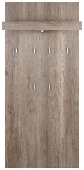 KLÄDHÄNGARE - ekfärgad, Design, träbaserade material (65/147/28cm)