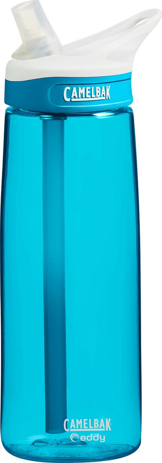 TRINKFLASCHE 0,75 L - Blau, Design, Kunststoff (0,75l)