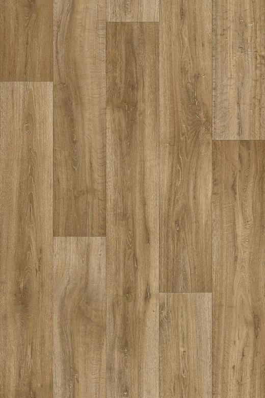 PVC-BELAG per  m² - Eichefarben, KONVENTIONELL, Kunststoff (300cm) - Venda