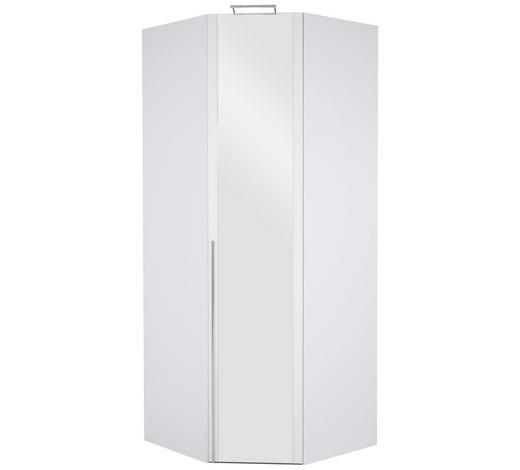 ROHOVÁ SKŘÍŇ, bílá - bílá/barvy chromu, Design, kov/kompozitní dřevo (94/236/94cm) - Hom`in
