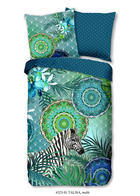 BETTWÄSCHE Satin Multicolor 135/200 cm - Multicolor, Trend, Textil (135/200cm)