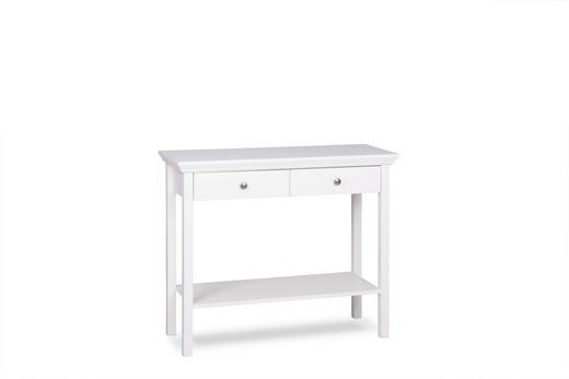 KONSOLE Weiß - Weiß, LIFESTYLE (90/75/35cm) - Carryhome