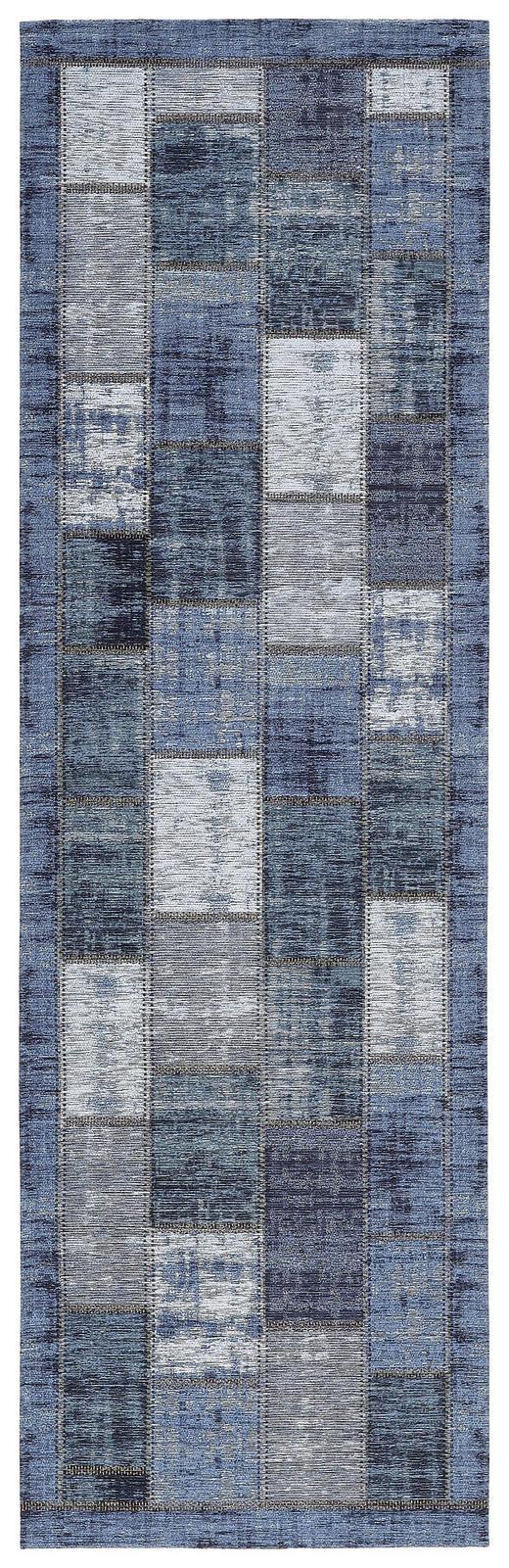 LÄUFER  68/220 cm  Blau - Blau, Basics, Textil (68/220cm) - Novel