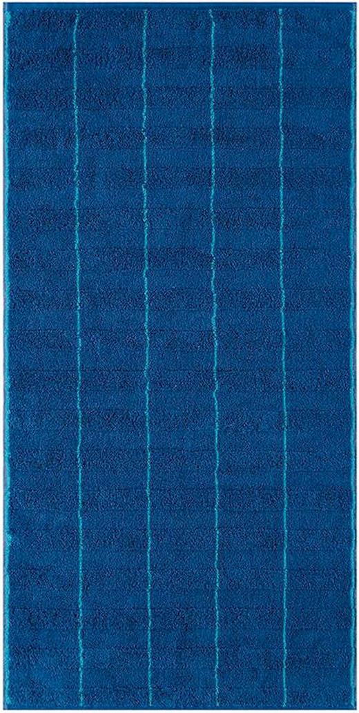 DUSCHTUCH 70/140 cm - Blau, Basics, Textil (70/140cm) - Cawoe
