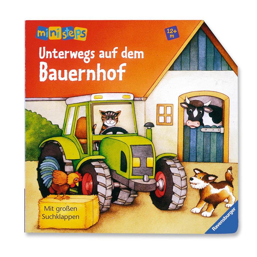 Bilderbuch 'Unterwegs auf dem Bauernhof' von Ravensburger