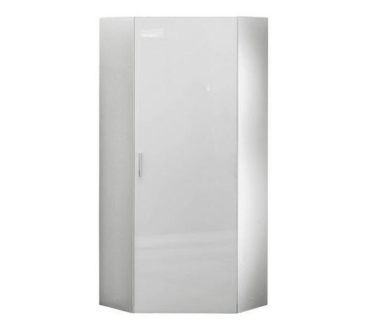 ŠATNÍ SKŘÍŇ, bílá,  - bílá/barvy chromu, Design, kompozitní dřevo/umělá hmota (80/185/80cm) - Xora