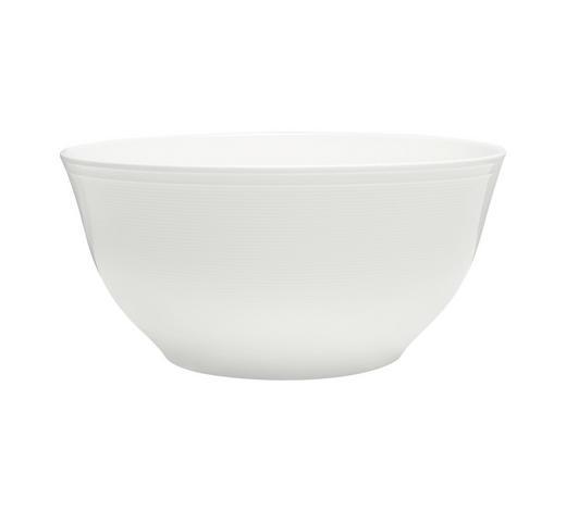 MÍSA NA SALÁT, porcelán - bílá, Design, keramika (22,35cm) - Novel