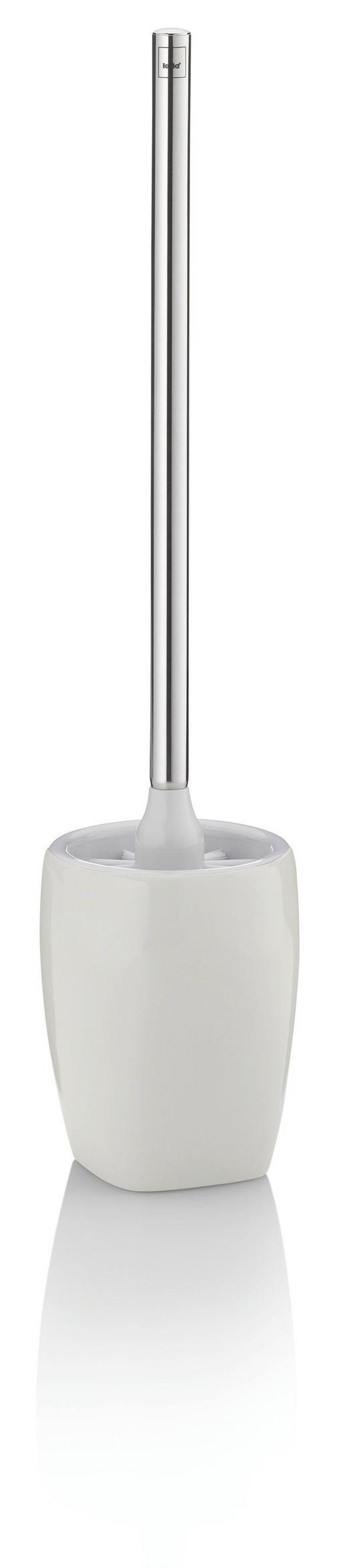 WC-BÜRSTENGARNITUR - Edelstahlfarben/Beige, KONVENTIONELL, Keramik/Kunststoff (12/12/45cm)