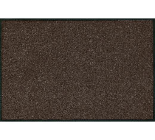 FUßMATTE  120/180 cm  Dunkelbraun - Dunkelbraun, Basics, Kunststoff/Textil (120/180cm) - Esposa