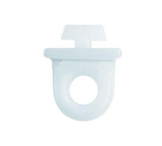 ZWISCHENFESTSTELLER - Weiß, Basics, Kunststoff (1.4/1.3cm) - Homeware