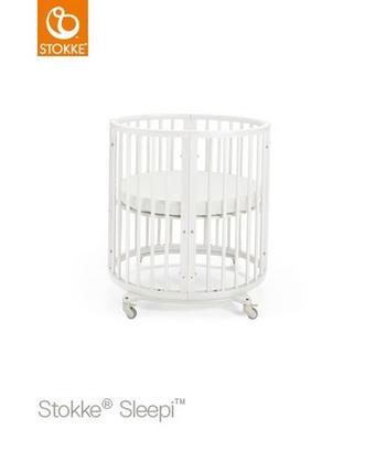 Stokke Sleepi Mini - vit, Design, trä (67/87/82cm) - STOKKE
