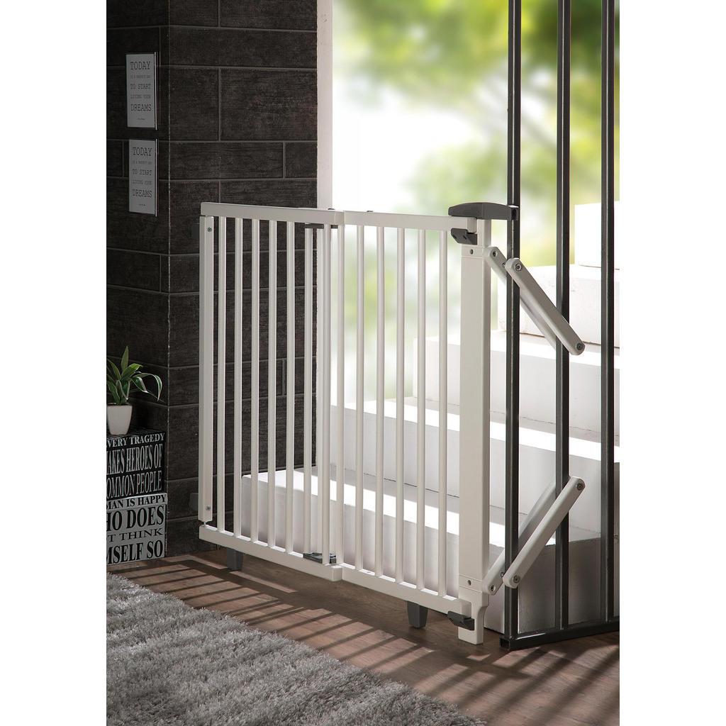 Geuther Treppenschutzgitter Plus, Mehrfarbig | Kinderzimmer > Babymöbel > Lauf- & Schutzgitter | Holz | Geuther