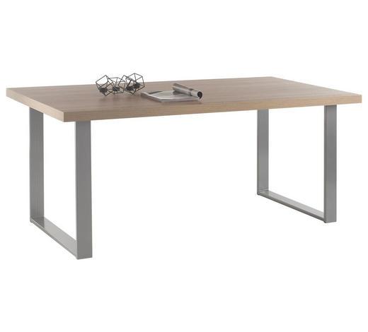 ESSTISCH in Holzwerkstoff 180/90/77 cm - Anthrazit/Sonoma Eiche, KONVENTIONELL, Holzwerkstoff/Metall (180/90/77cm) - Carryhome