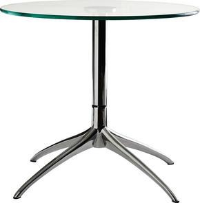 SOFFBORD - kromfärg, Klassisk, metall/glas (55/48cm) - Stressless