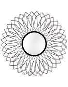 WANDSPIEGEL Schwarz - Schwarz, Basics, Glas/Metall (91cm) - Ambia Home