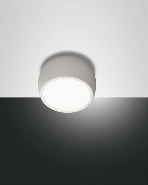 LED-DECKENLEUCHTE - Weiß, Design, Kunststoff/Metall (8/4cm)