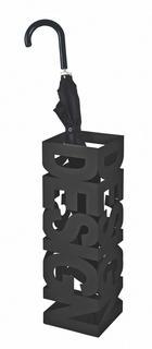 STALAK ZA KIŠOBRANE - crna, Design, metal (16/48/16cm) - Boxxx