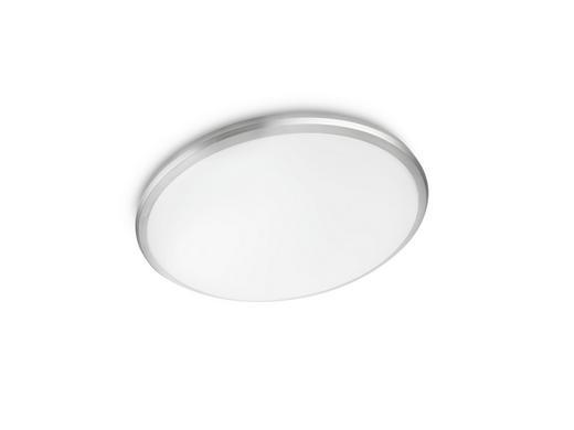 LED-DECKENLEUCHTE - Grau, KONVENTIONELL, Kunststoff (35/6,6cm)
