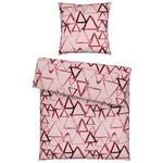 BETTWÄSCHE Seersucker Rosa  - Rosa, Trend, Textil (135/200cm) - Esposa